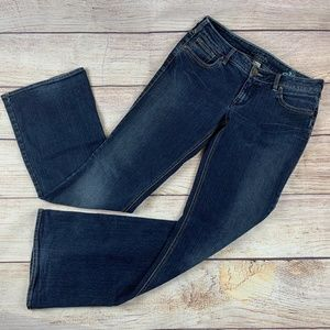 Silver Aiko Flare Boot Jeans 31/35 Western Glove
